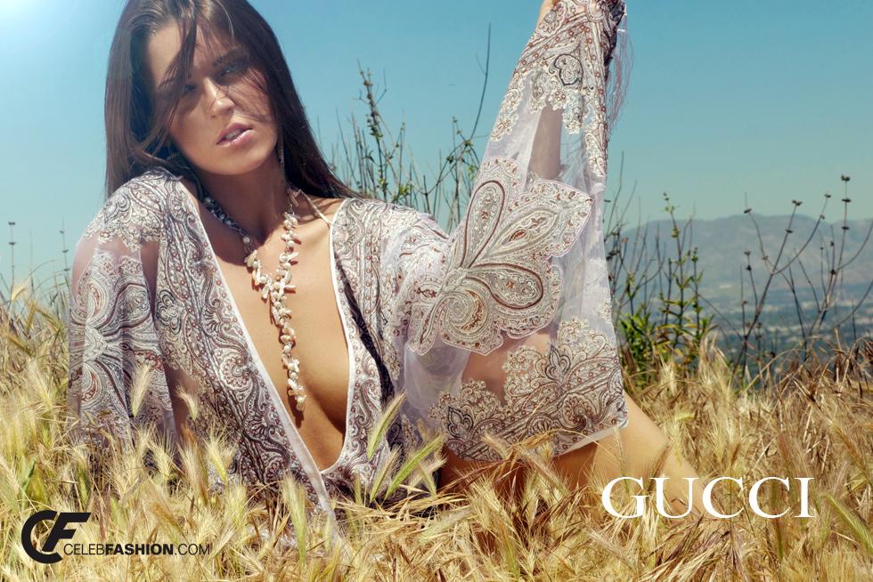 Gucci photo model