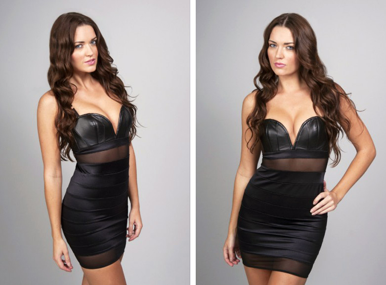 Sky Dress Model