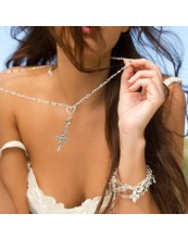 Wrapped in Luxury Cross Necklace 1